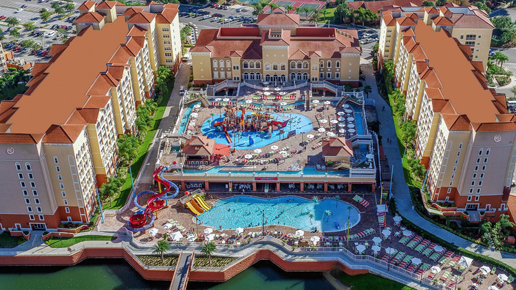 Luxury Resort Hotel with Water Park
