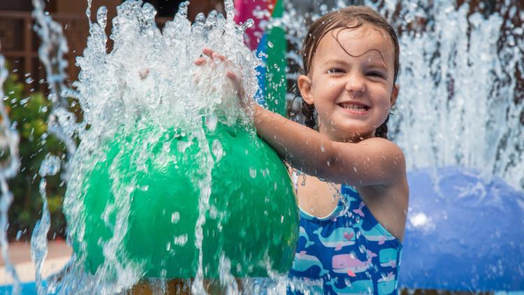 Kids Love Water Park Fun