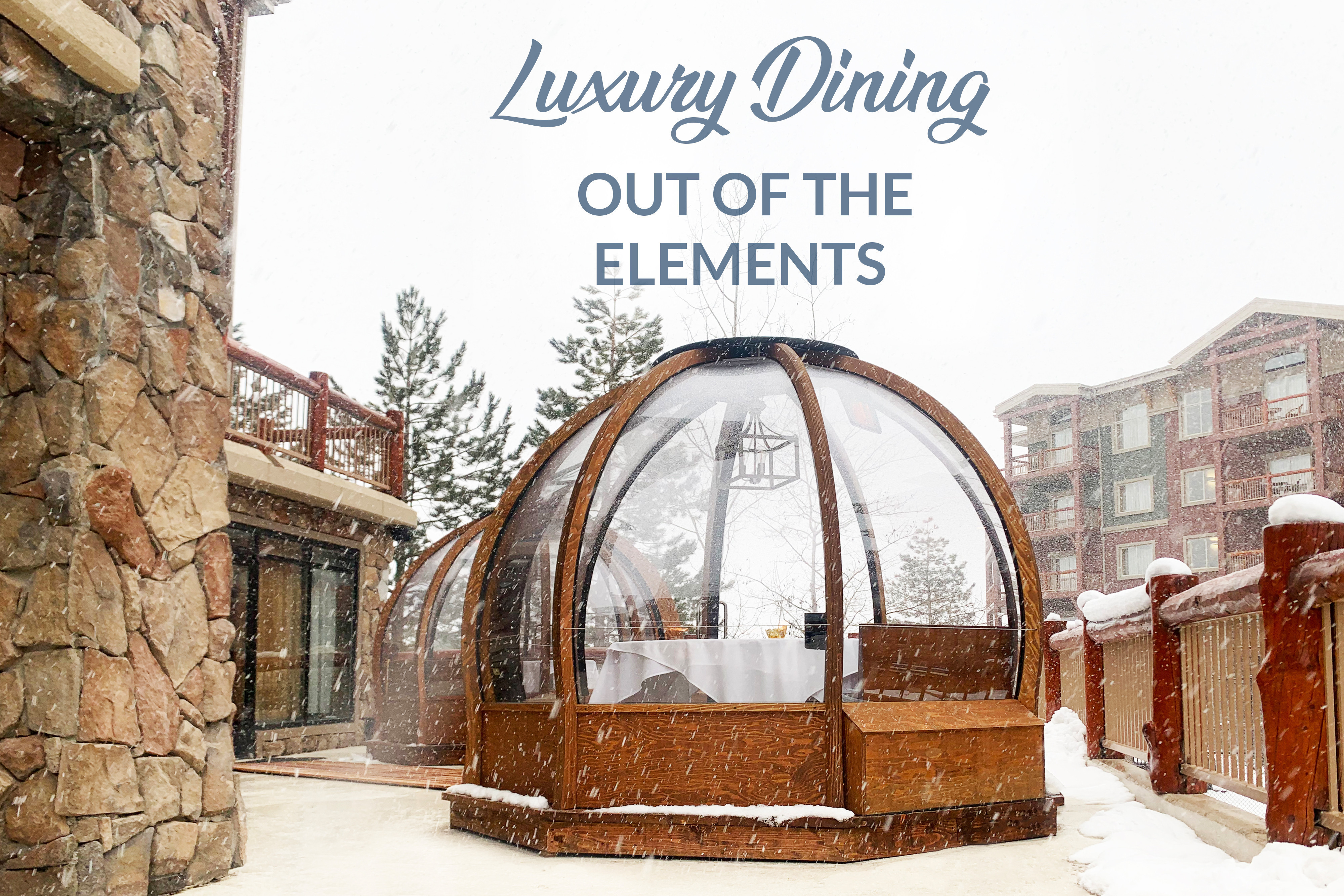 Luxury Alpenglobe Dining Experience Now Available at Westgate Park City Resort & Spa - Park City