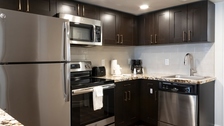 Kitchen   One-Bedroom Villa   Westgate Flamingo Bay Resort   Westgate Resorts in Las Vegas NV