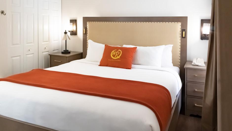 Master Bedroom   One-Bedroom Villa   Westgate Flamingo Bay Resort   Westgate Resorts in Las Vegas NV