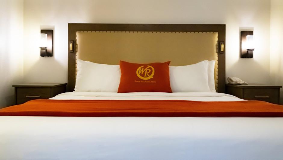 One Bedroom Deluxe Villa at the Flamingo Las Vegas hotel   Westgate Flamingo Bay Resort   Westgate Resorts in Las Vegas NV