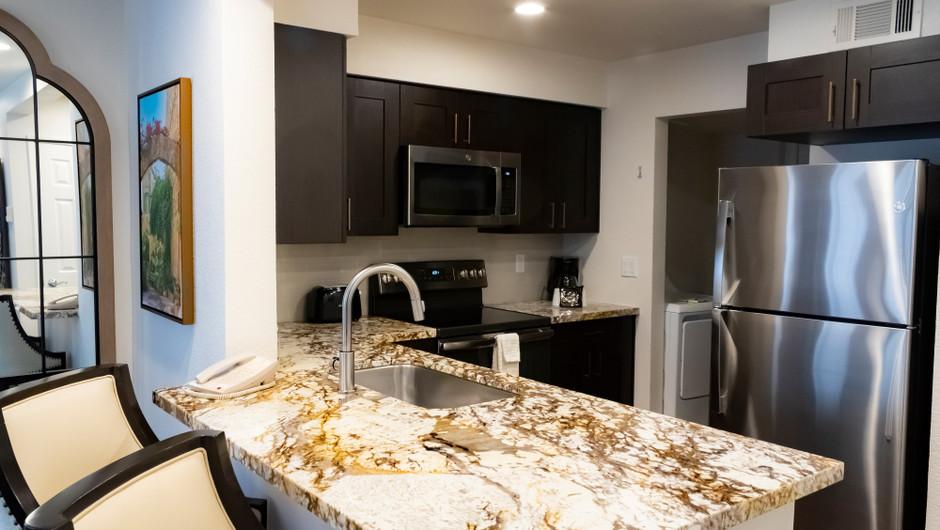 1 Bedroom Deluxe Villa at our Flamingo Las Vegas hotel | Westgate Flamingo Bay Resort | Westgate Resorts in Las Vegas NV