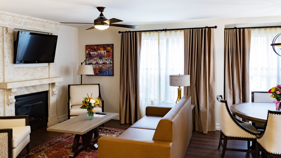 One Bedroom Deluxe Villa at our Flamingo Las Vegas hotel   Westgate Flamingo Bay Resort   Westgate Resorts in Las Vegas NV