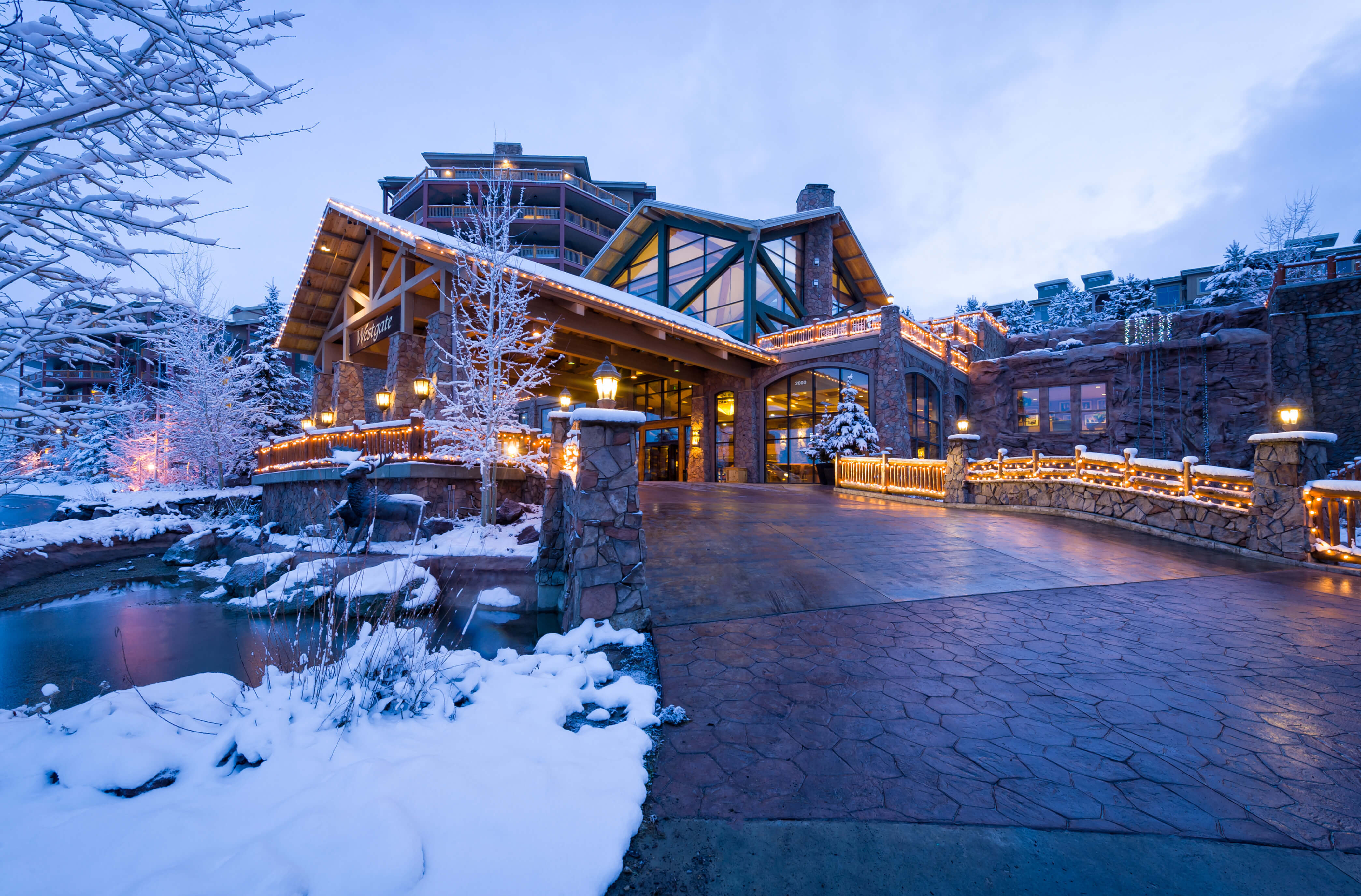 Park City, Utah Hotel and Ski Resort located near Park City Mountain | Resort in Winter