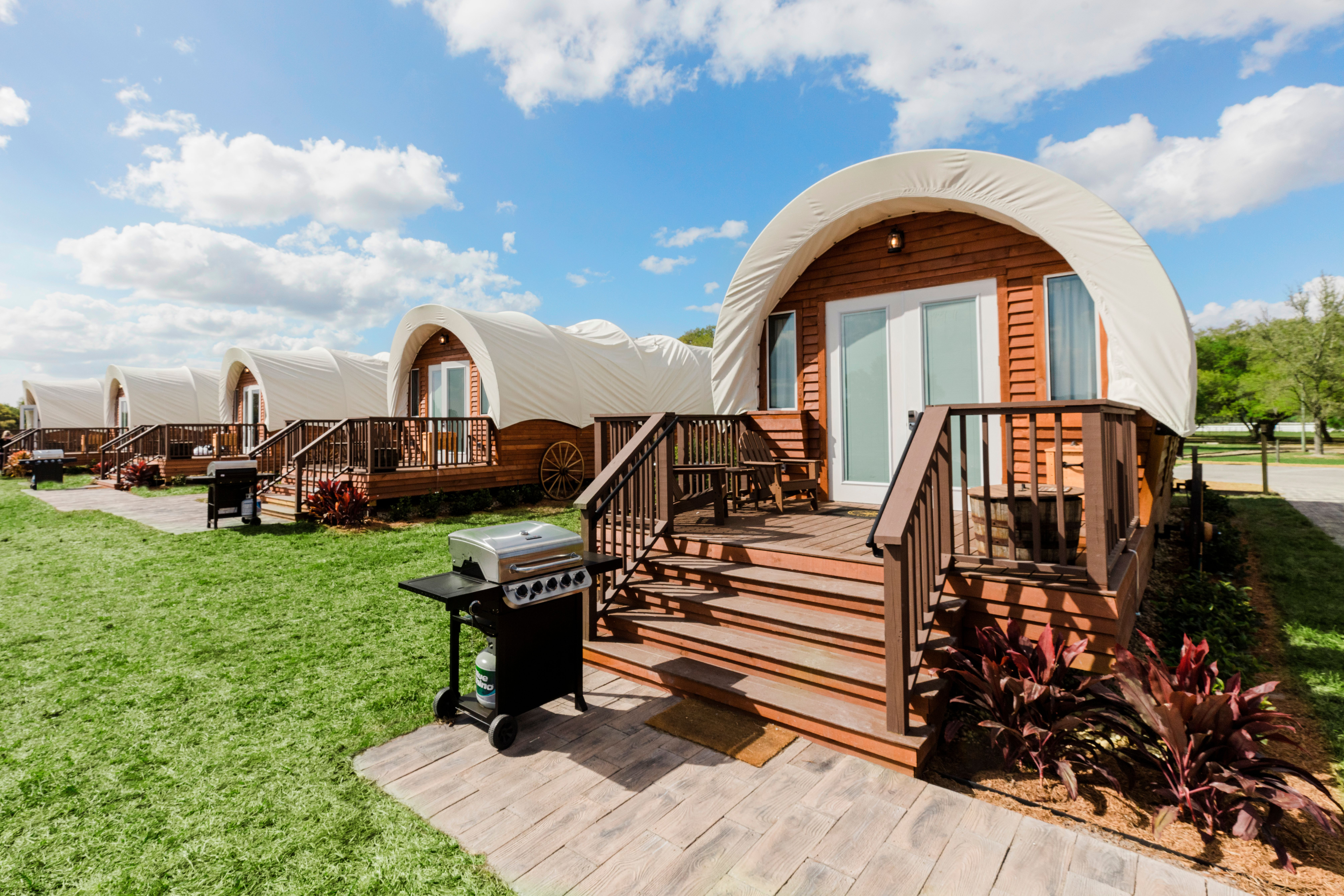 Luxe Conestoga Wagon | Westgate River Ranch Resort