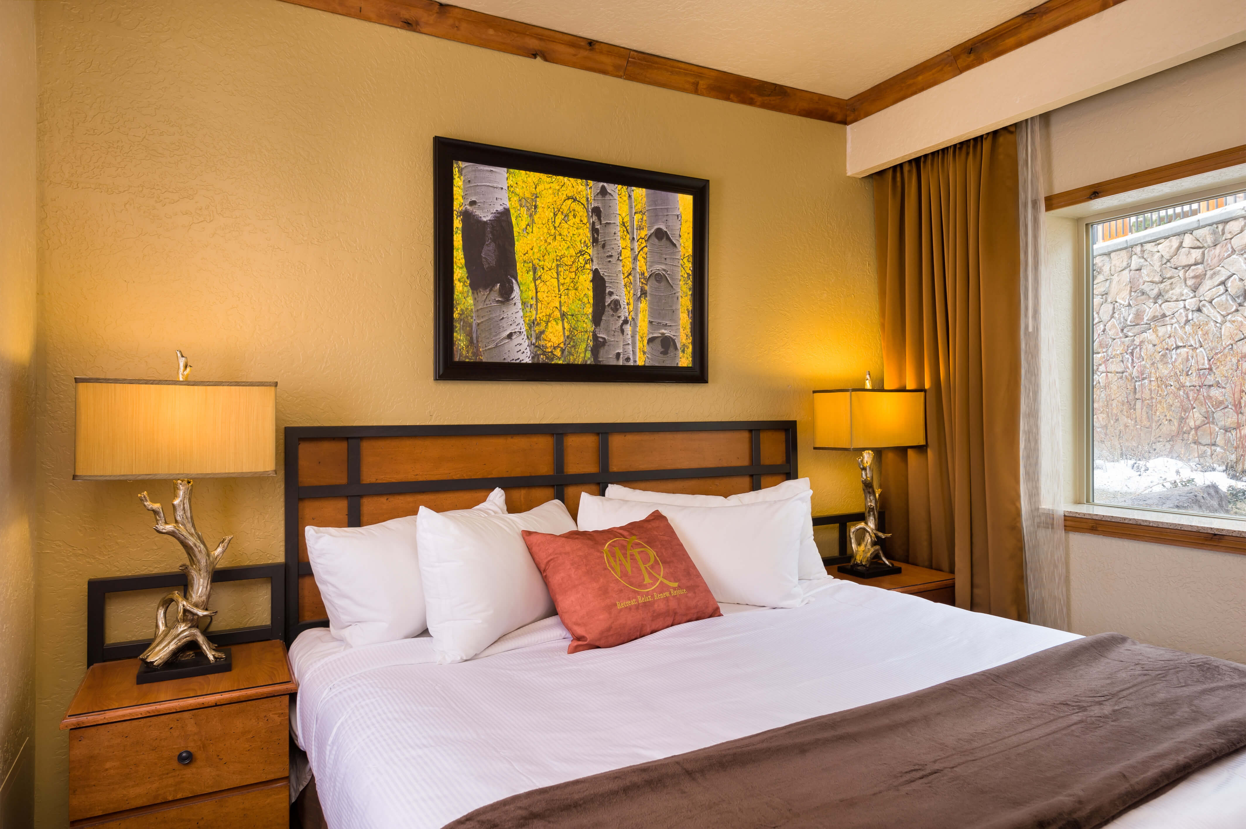 Suites at our Park City, Utah Hotel and Ski Resort | Bedroom in Signature Suite