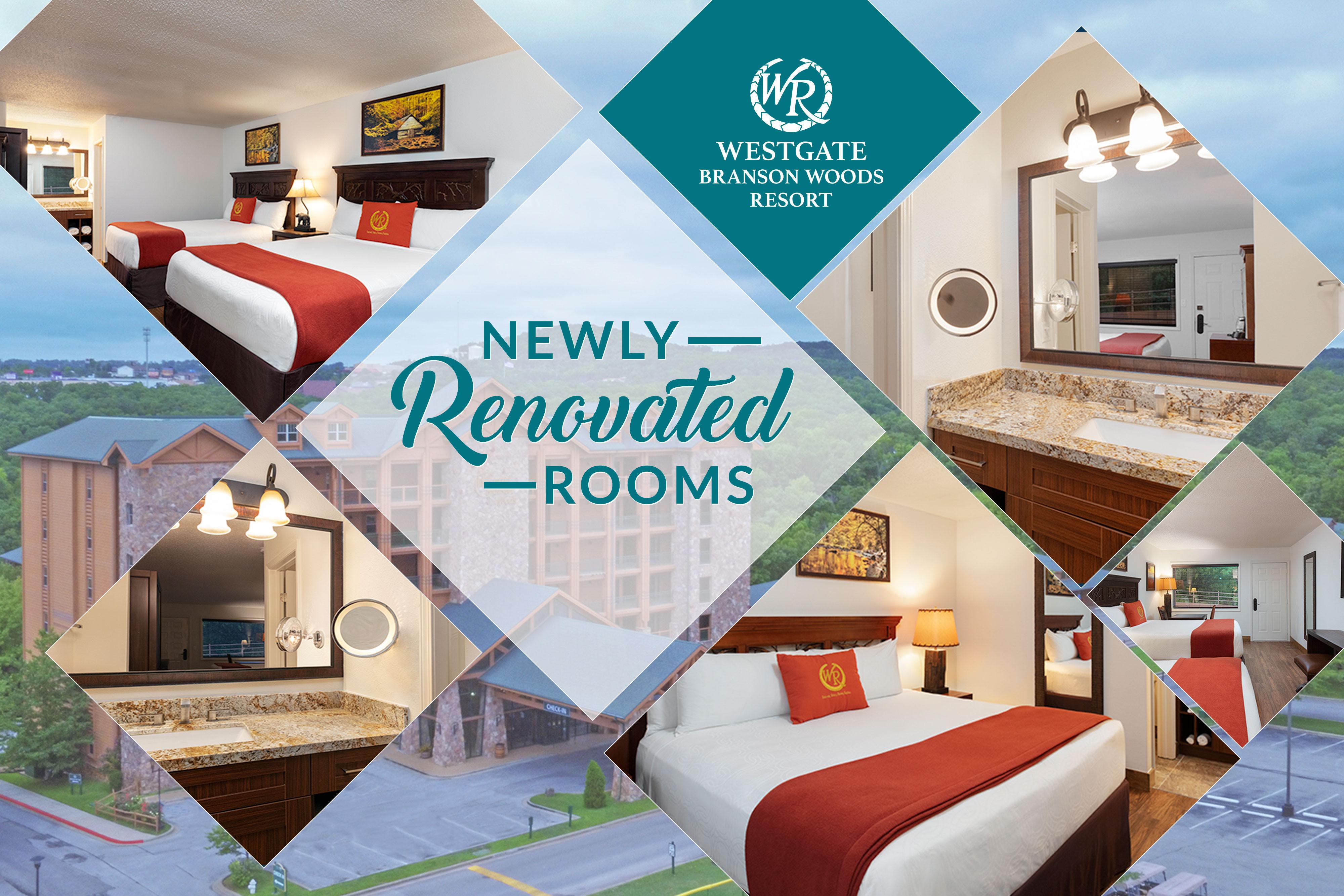 Westgate Resorts Reveals Details of $3.2 Million Renovation of Westgate Branson Woods Resort