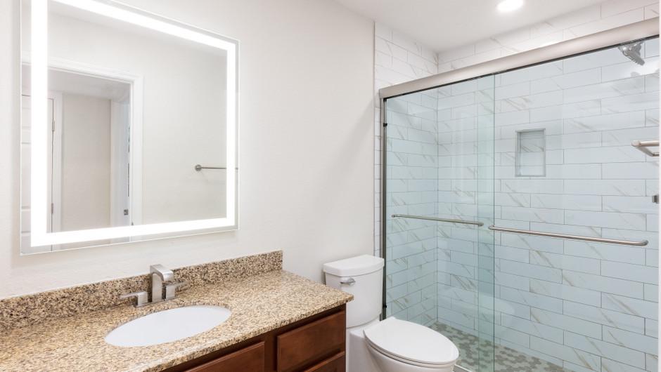 Bathroom in our Two Bedroom Deluxe Villas | Westgate Blue Tree Resort | Westgate Resorts Orlando