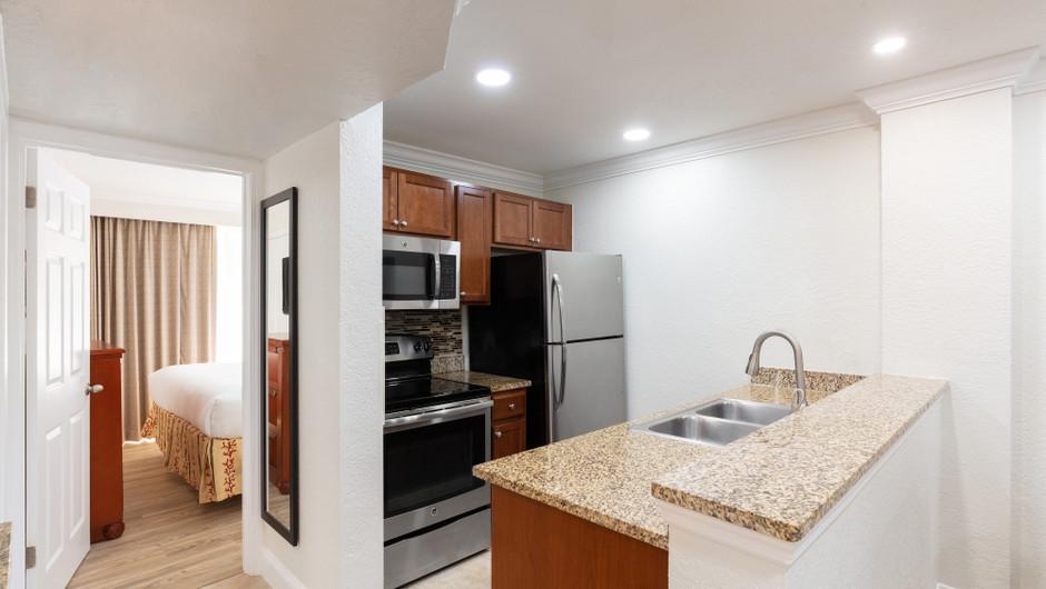 Kitchen in One Bedroom Villa at our Orlando resorts | Westgate Blue Tree Resort | Westgate Resorts Orlando