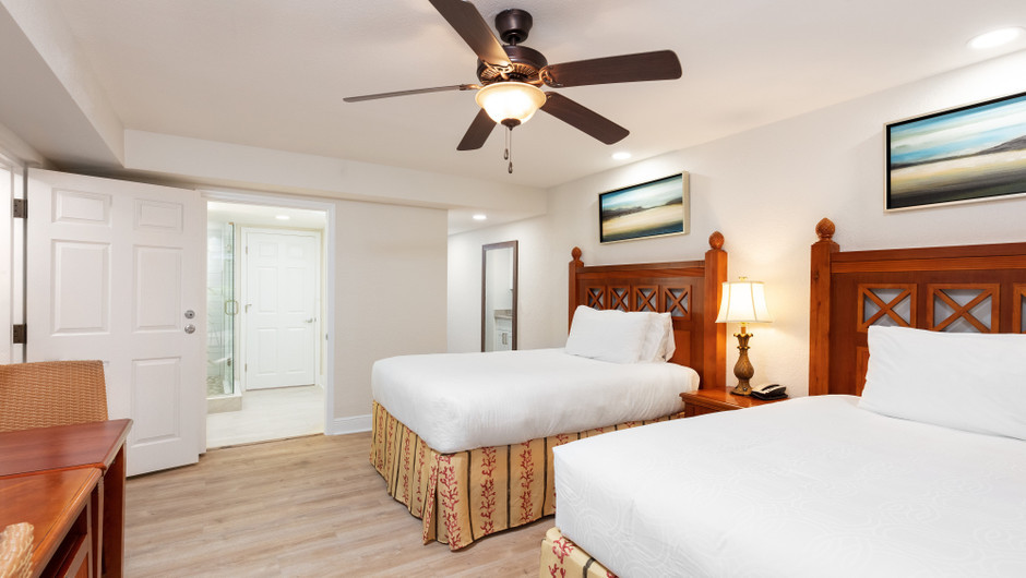 Bed in Two Bedroom Villa at our hotel villas in Orlando Florida | Westgate Towers Resort | Westgate Resorts