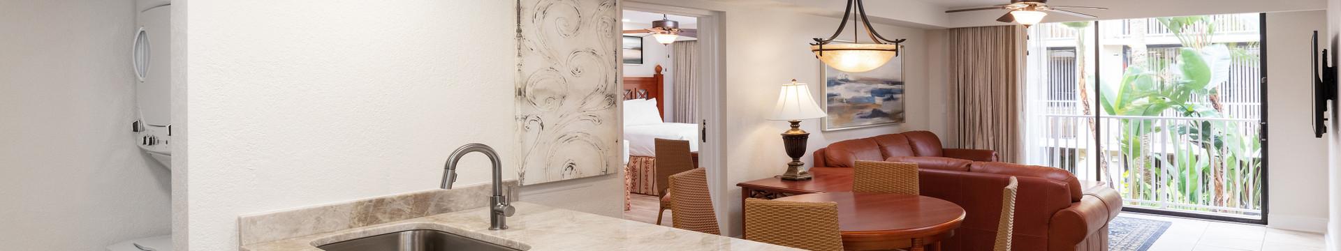 Two-Bedroom Villa at our hotel villas in Orlando Florida   Westgate Towers Resort   Westgate Resorts