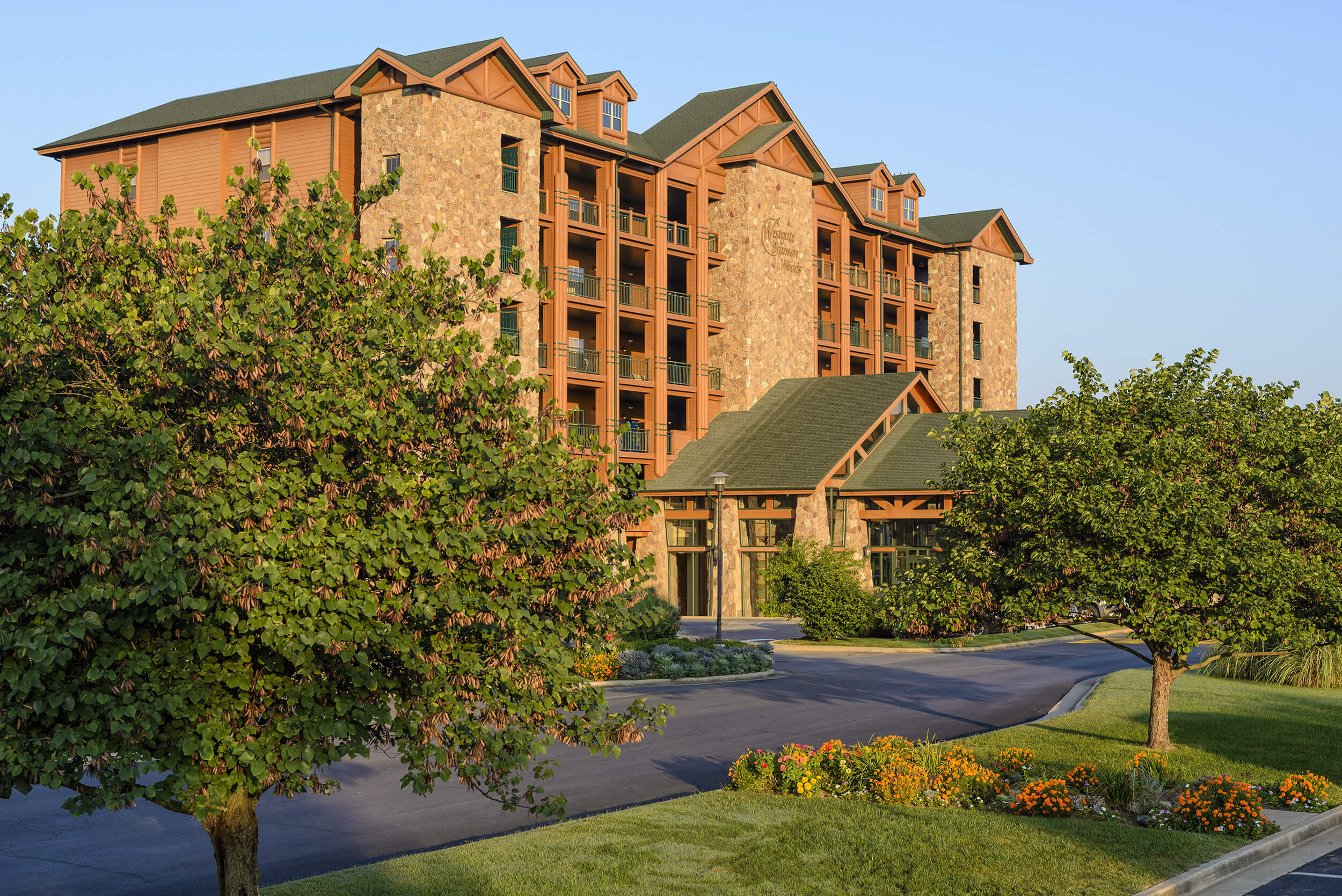 Exterior of resort building | Westgate Branson Woods Resort | Westgate Resorts in Branson