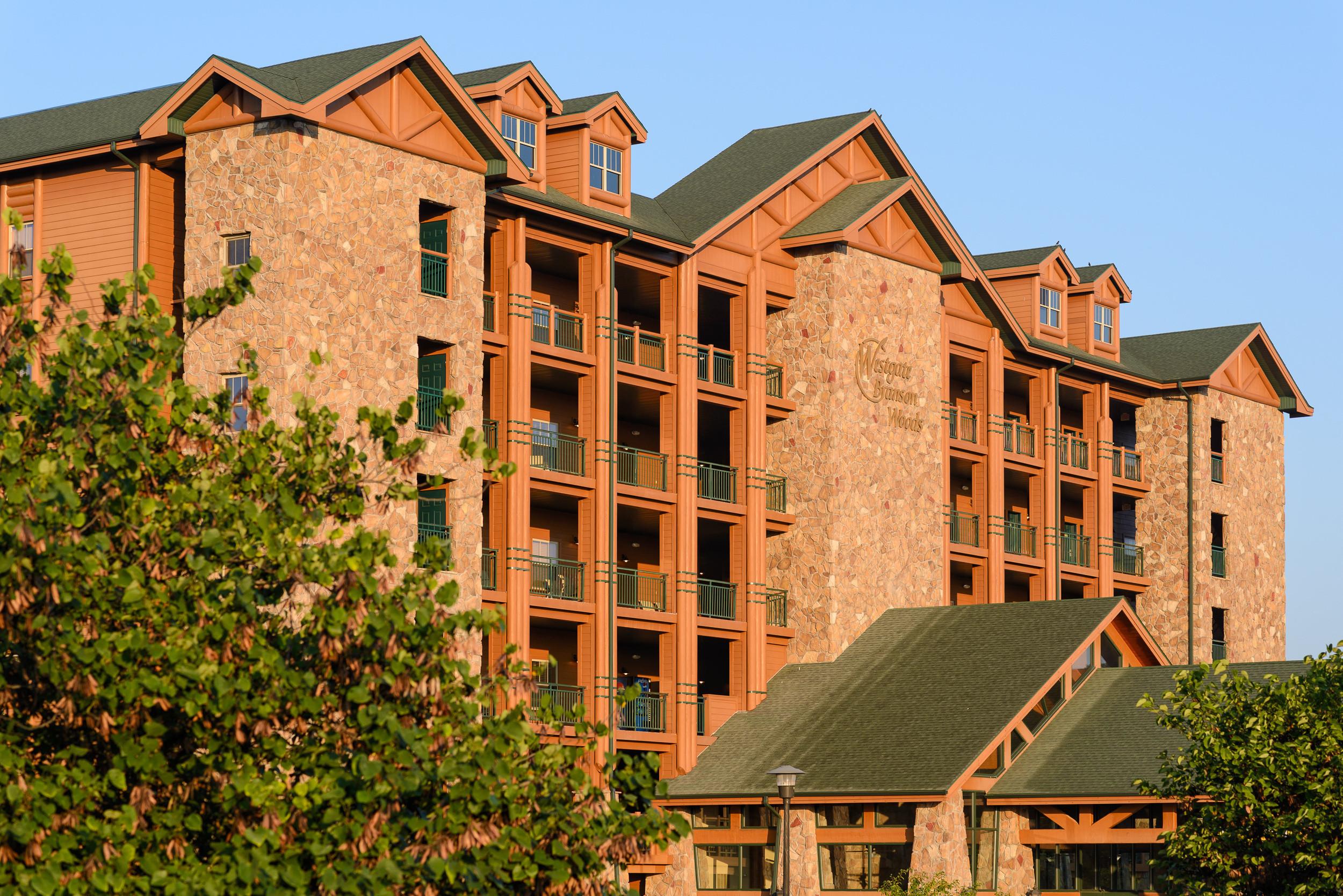 Outdoor View Of Westgate Branson Woods Resort
