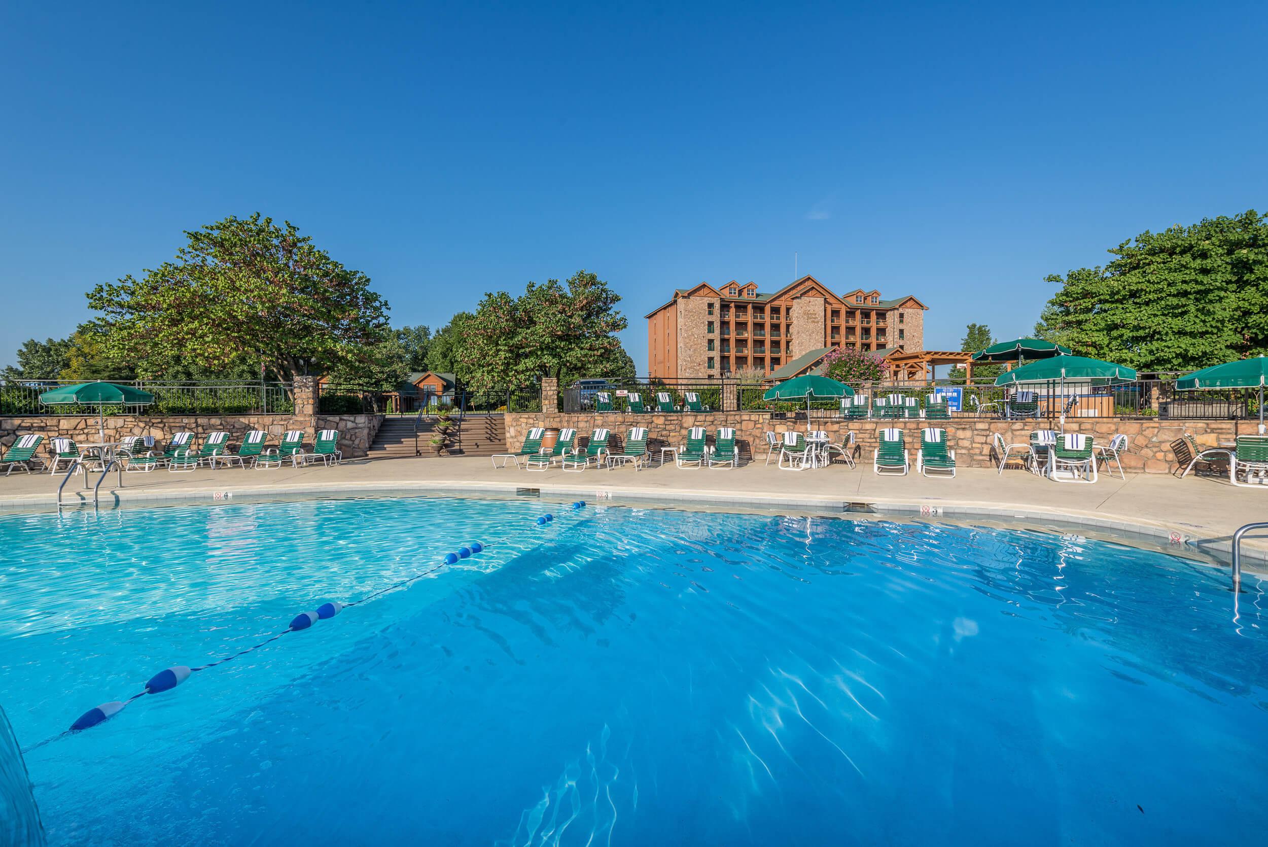 View of Pool At Westgate Branson Woods Resort