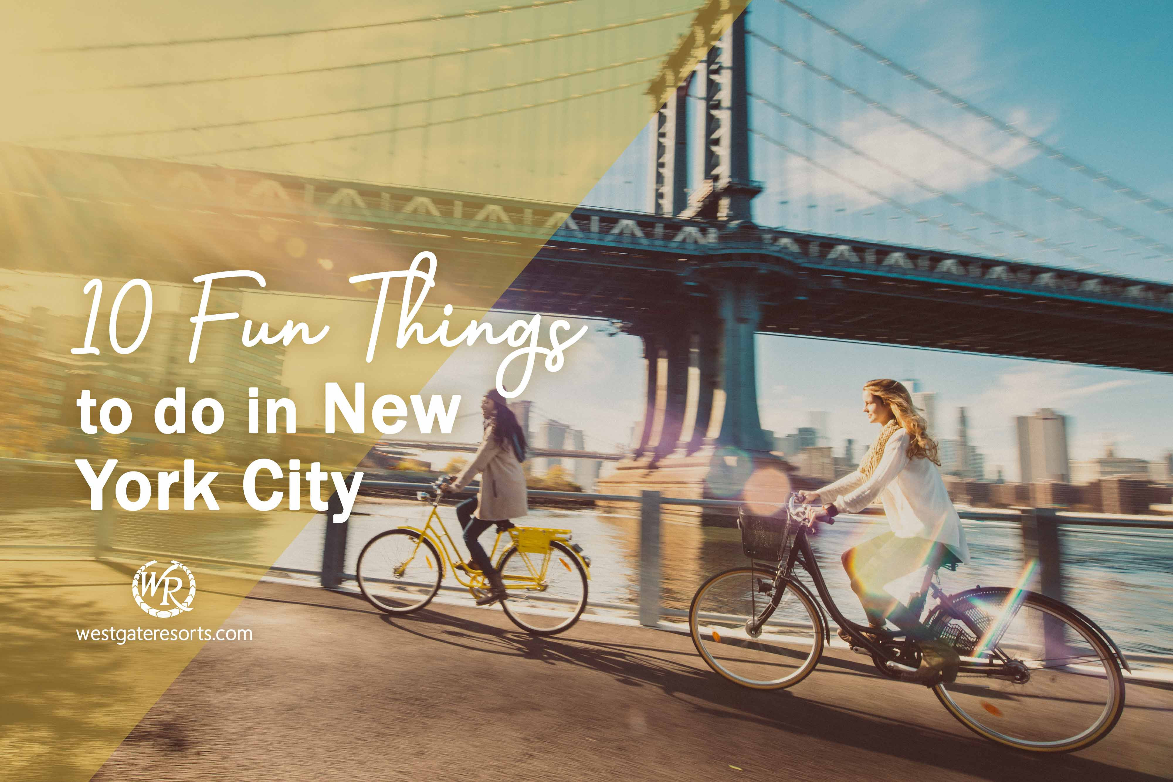 10 Fun Things to do in New York City