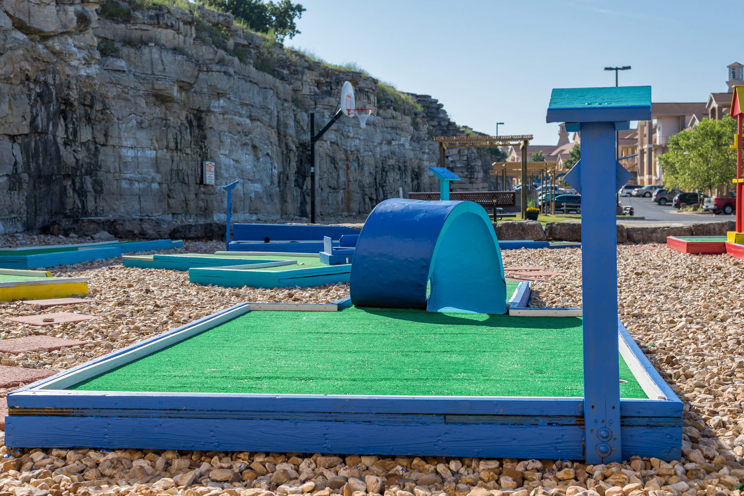 18-hole mini golf course onsite | Westgate Branson Lakes Resort | Westgate Family Resorts in Missouri