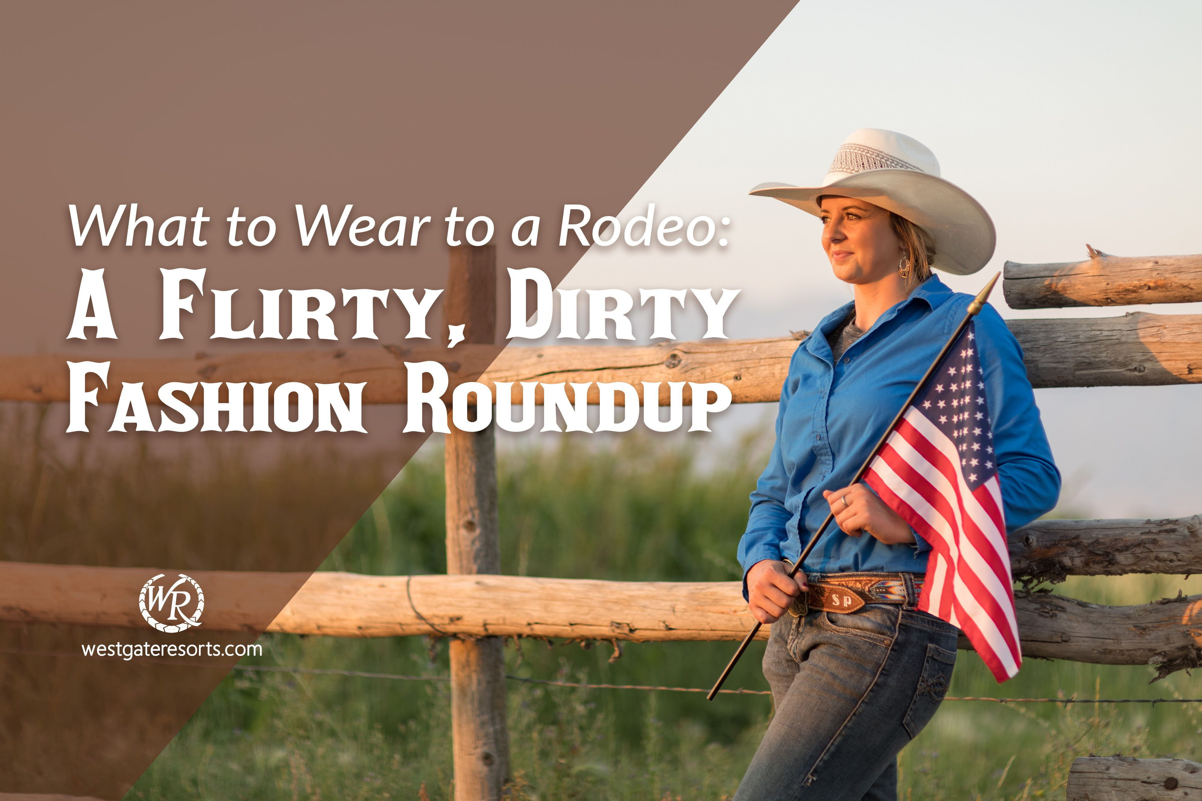 What to Wear to a Rodeo: A Flirty, Dirty Fashion Roundup