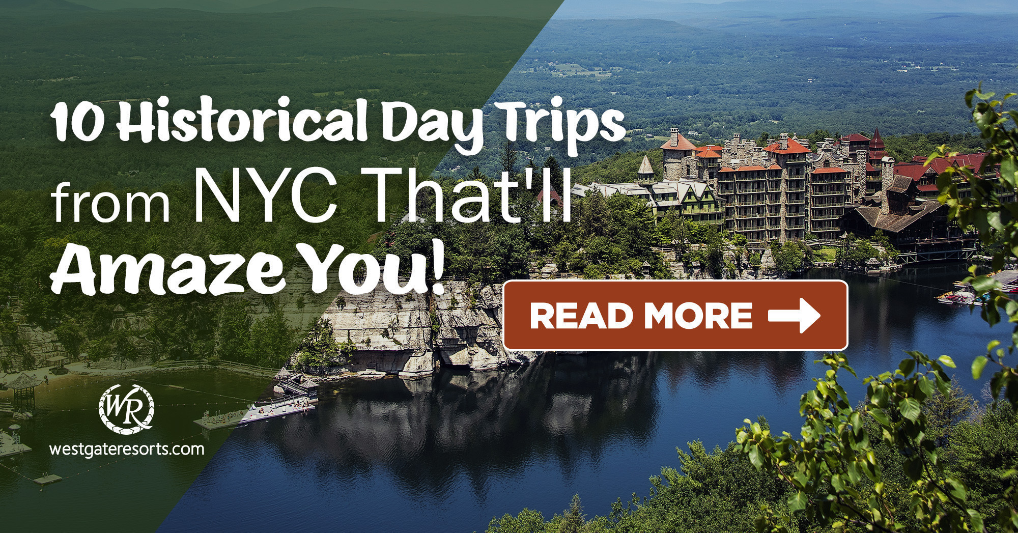 10 Historical Day Trips from NYC That'll Amaze You