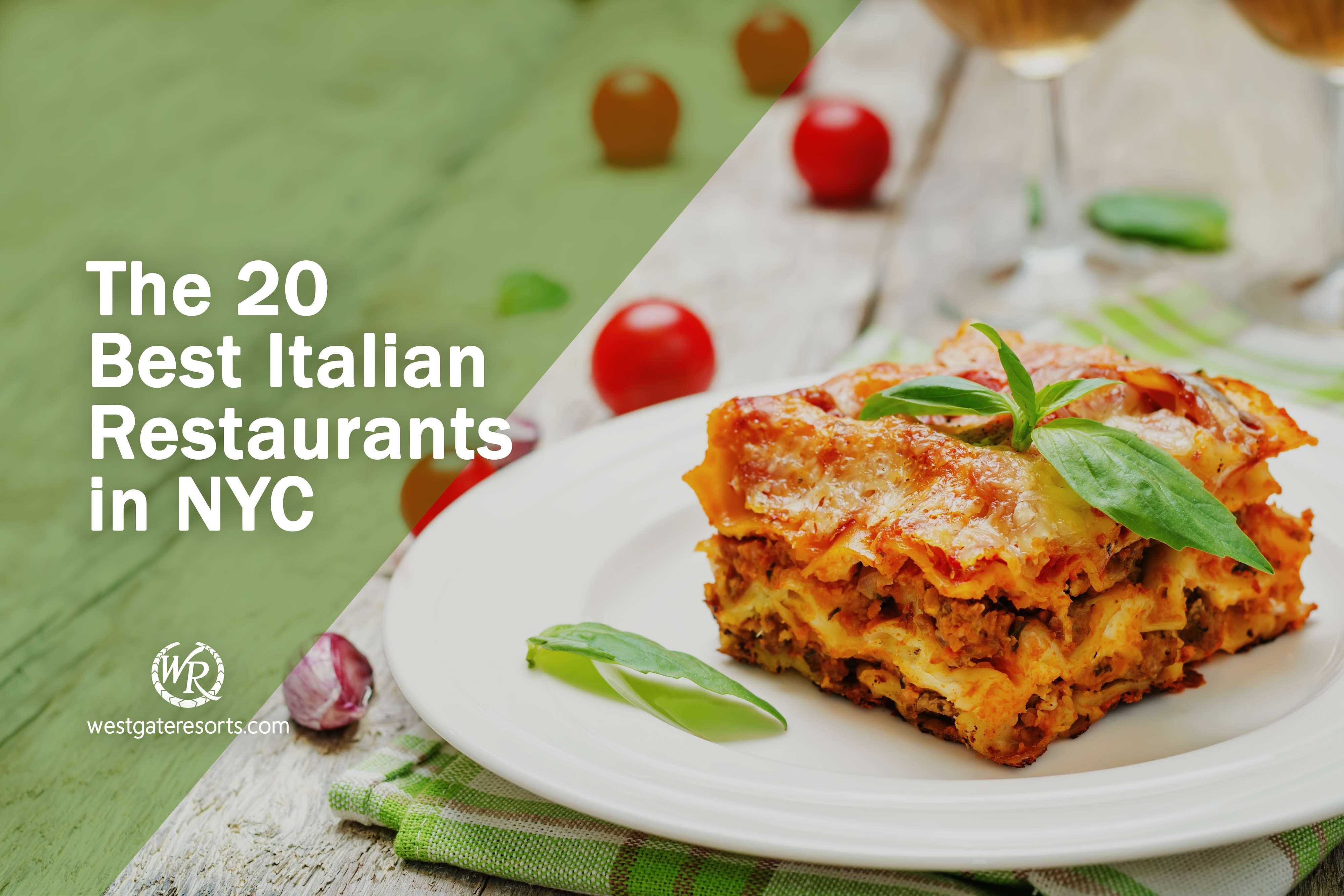 The 20 Best Italian Restaurants in NYC