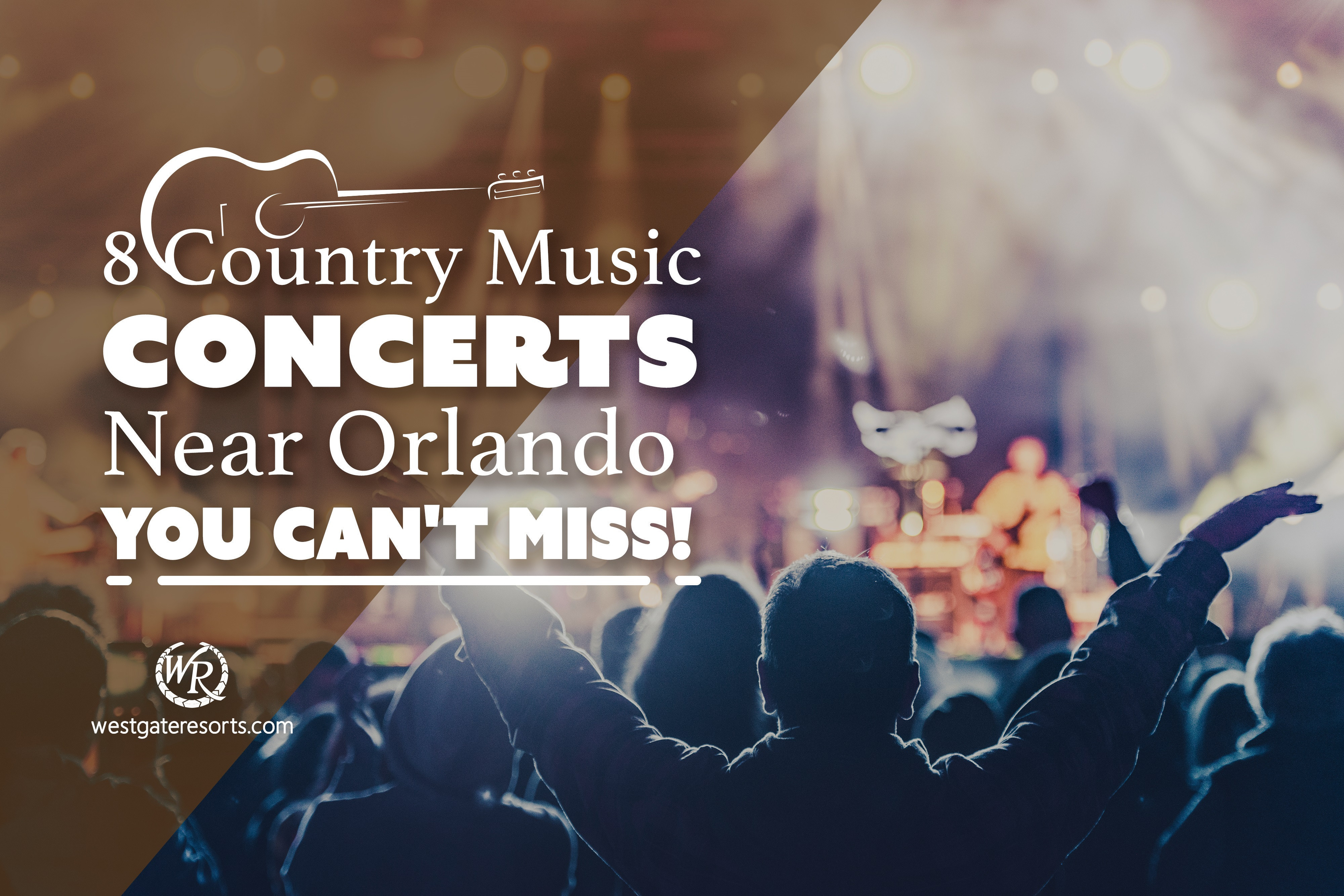 8 Country Music Concerts Near Orlando You Can't Miss!