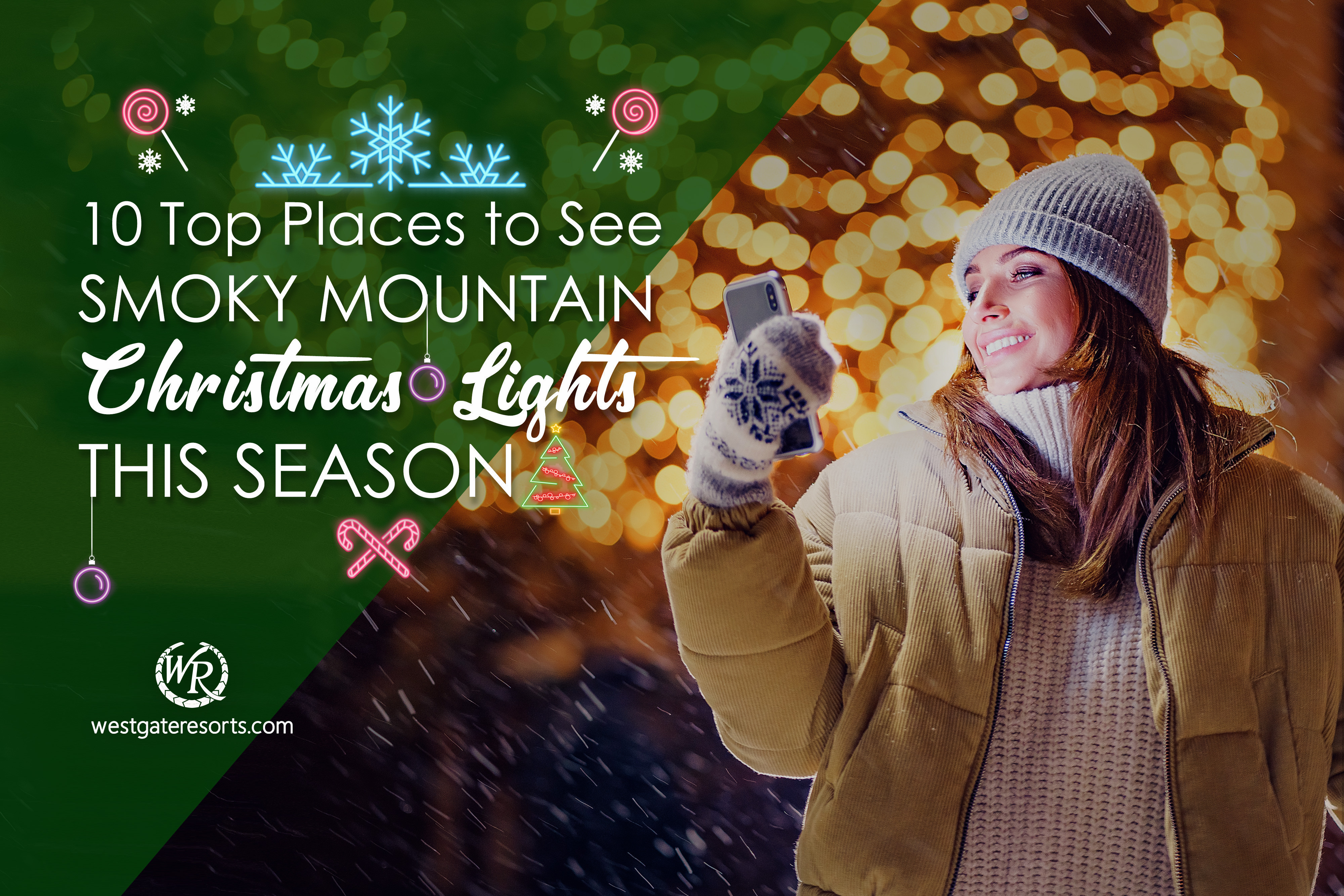 10 Top Places to See Smoky Mountain Christmas Lights This Season