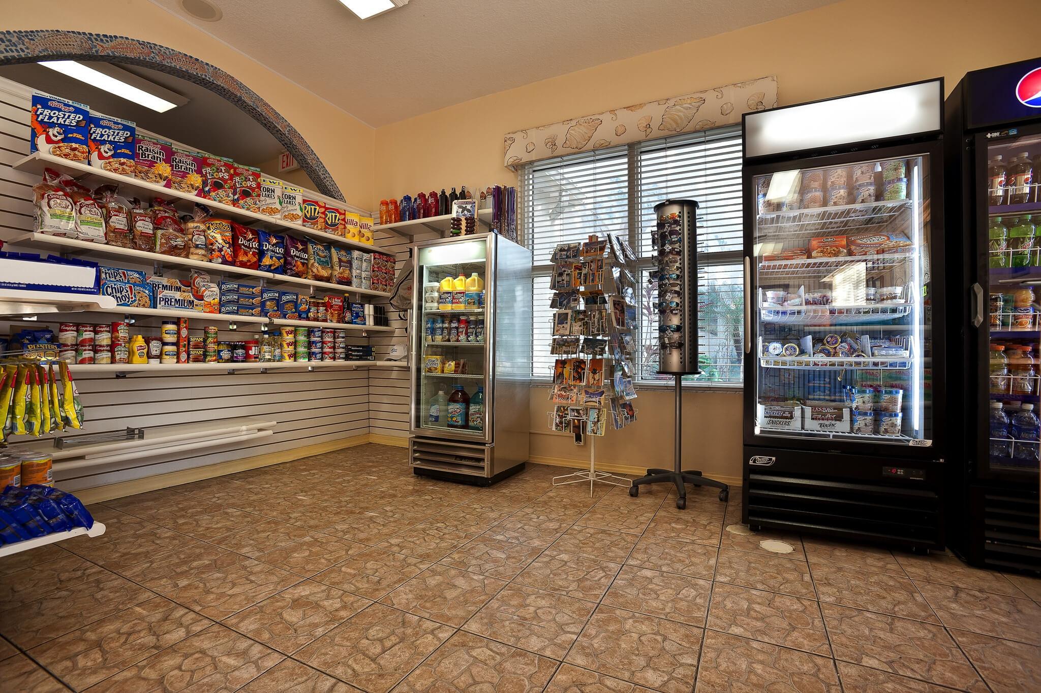 Snacks, drinks and sundries at Mini Market | Westgate Leisure Resort | Westgate Resorts