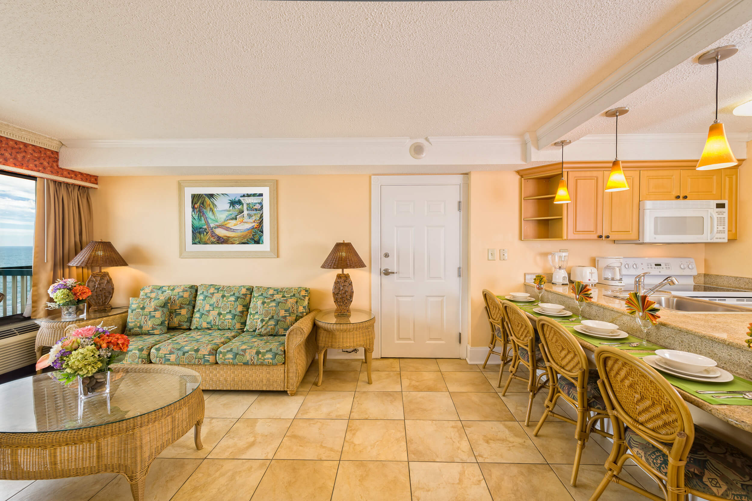 One-Bedroom Deluxe Oceanfront Villa | Westgate Myrtle Beach Oceanfront Resort | Westgate Resorts & Condos in Myrtle Beach