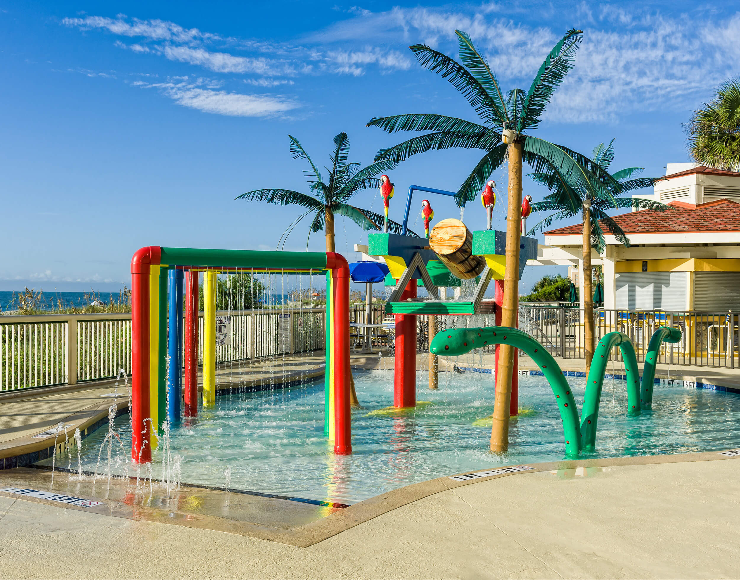 Children's water play area | Westgate Myrtle Beach Oceanfront Resort