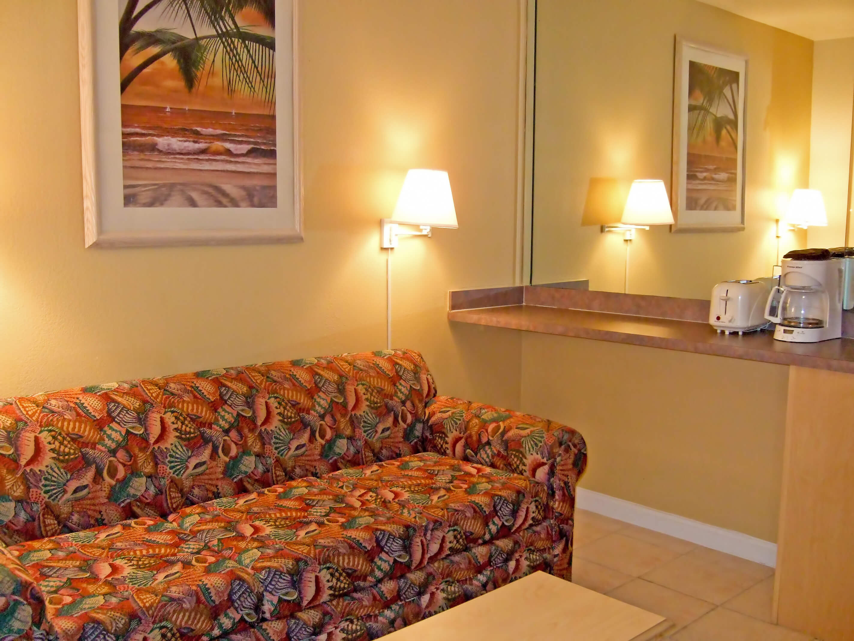 Daytona Beach Westgate Resorts | One-Bedroom Villa with Living Area and Queen Sleeper Sofa | Harbour Beach Resort