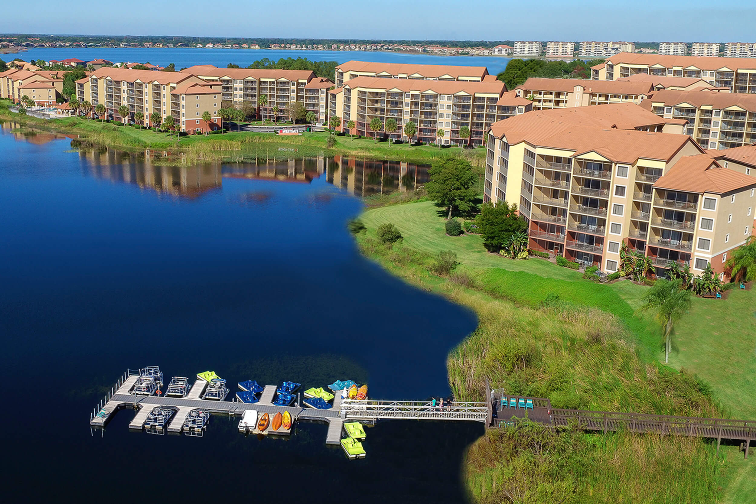 Aerial view of Westgate Lakes Resort & Spa - Westgate Resorts