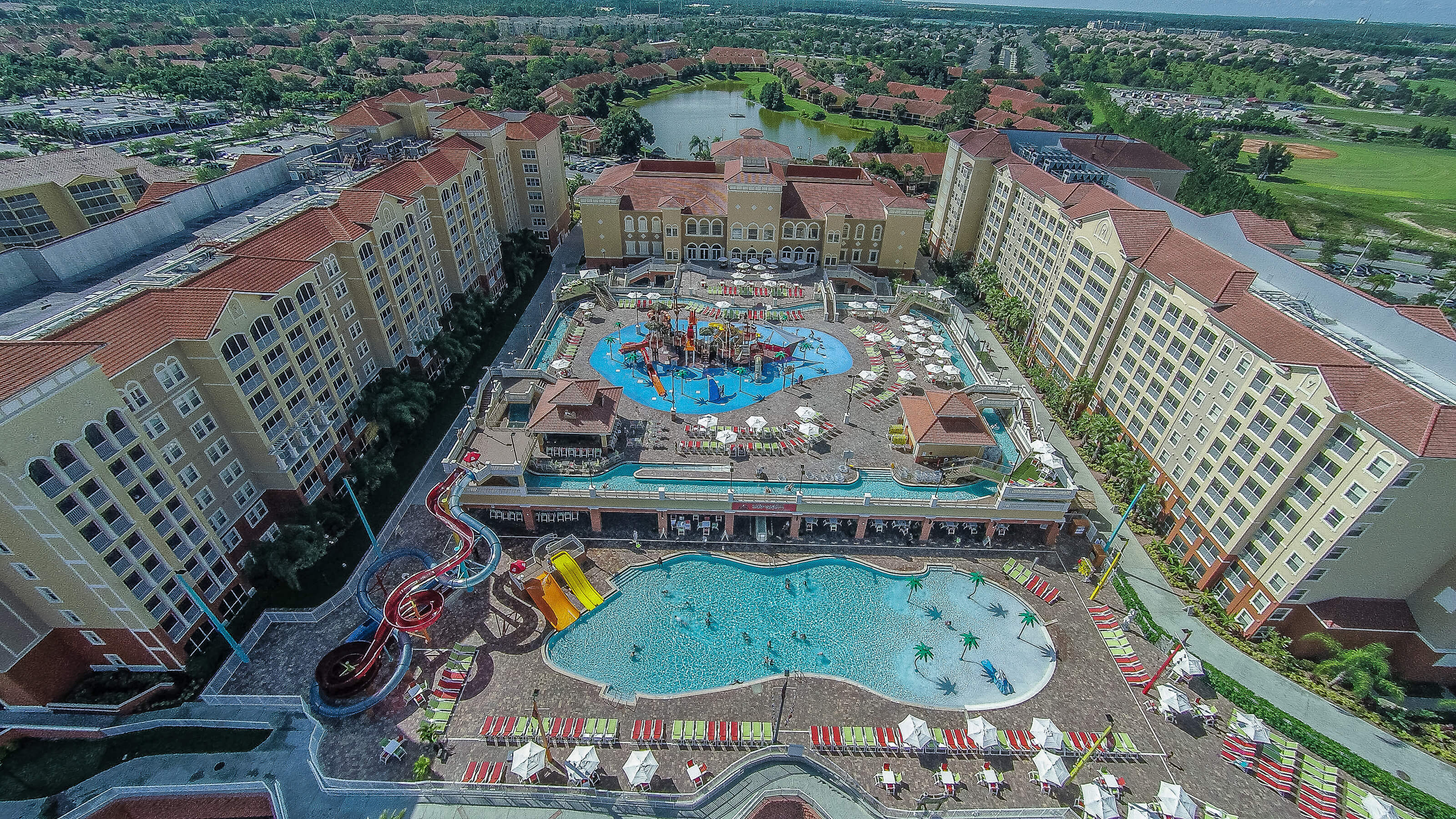 Overhead View of Resort | Westgate Vacation Villas Resort & Spa | Orlando, FL | Westgate Resorts