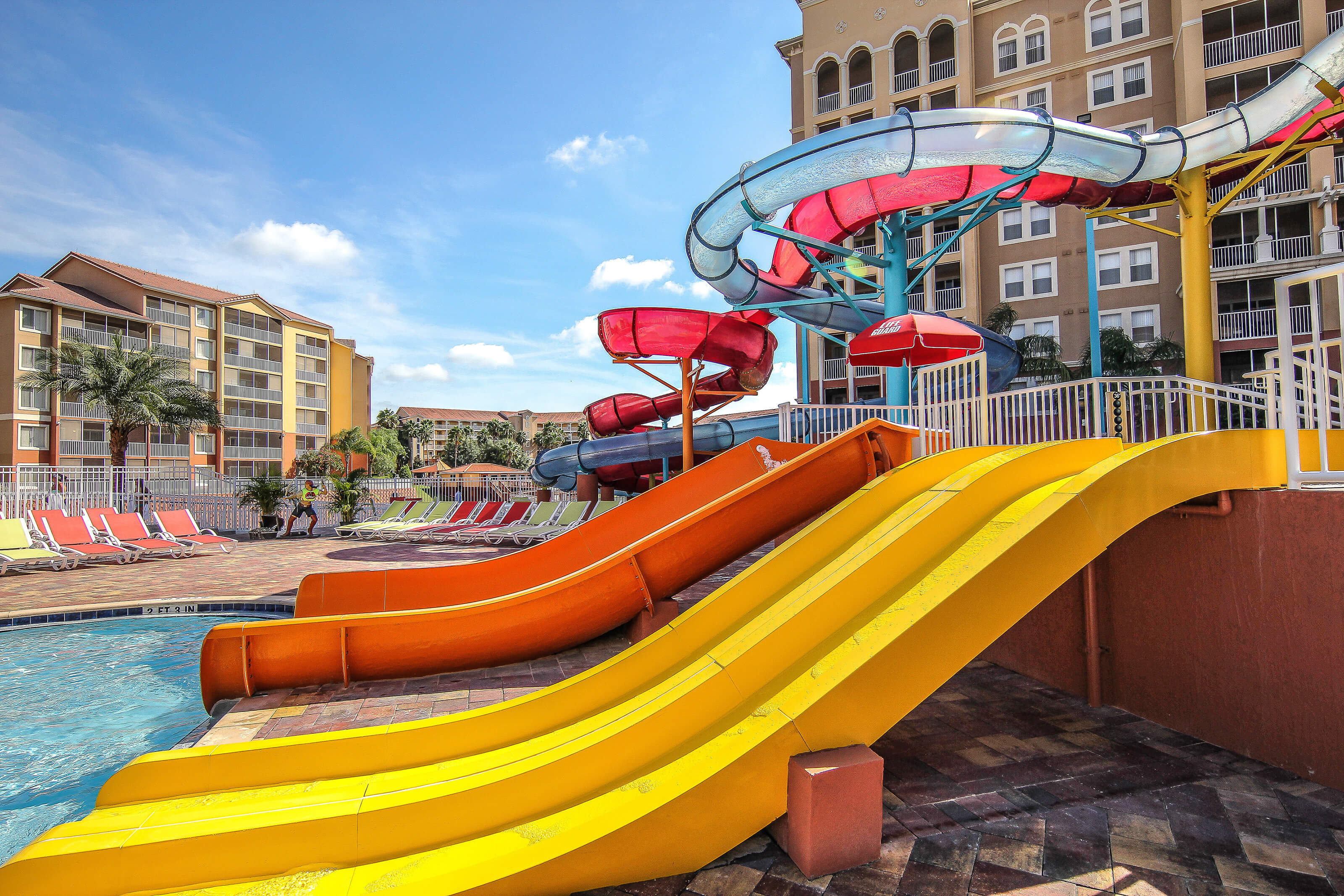 Slides at Shipwreck Island Water Park | Westgate Vacation Villas Resort & Spa | Orlando, FL | Westgate Resorts