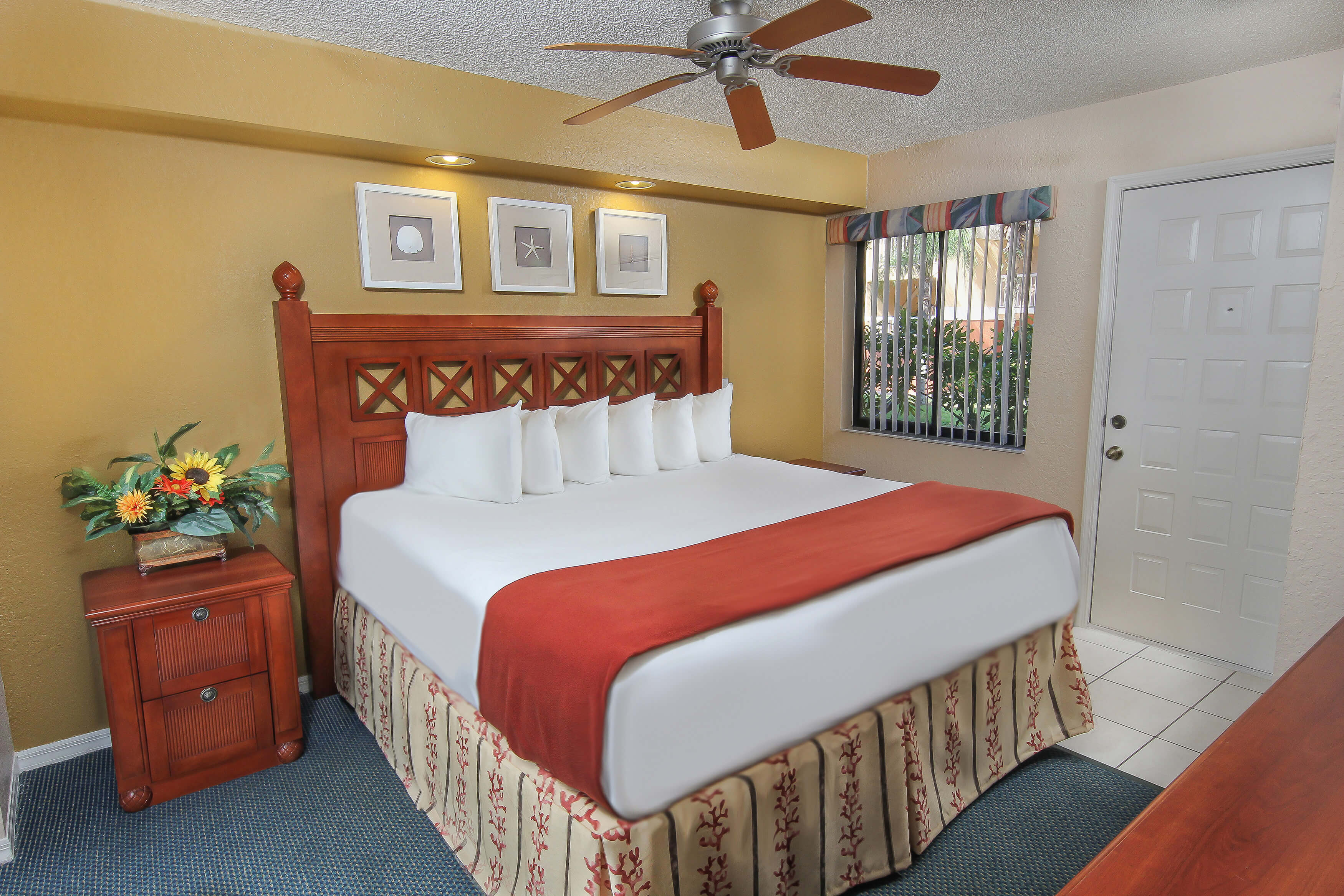 Bedroom with King Bed | Westgate Vacation Villas Resort & Spa | Orlando, FL | Westgate Resorts