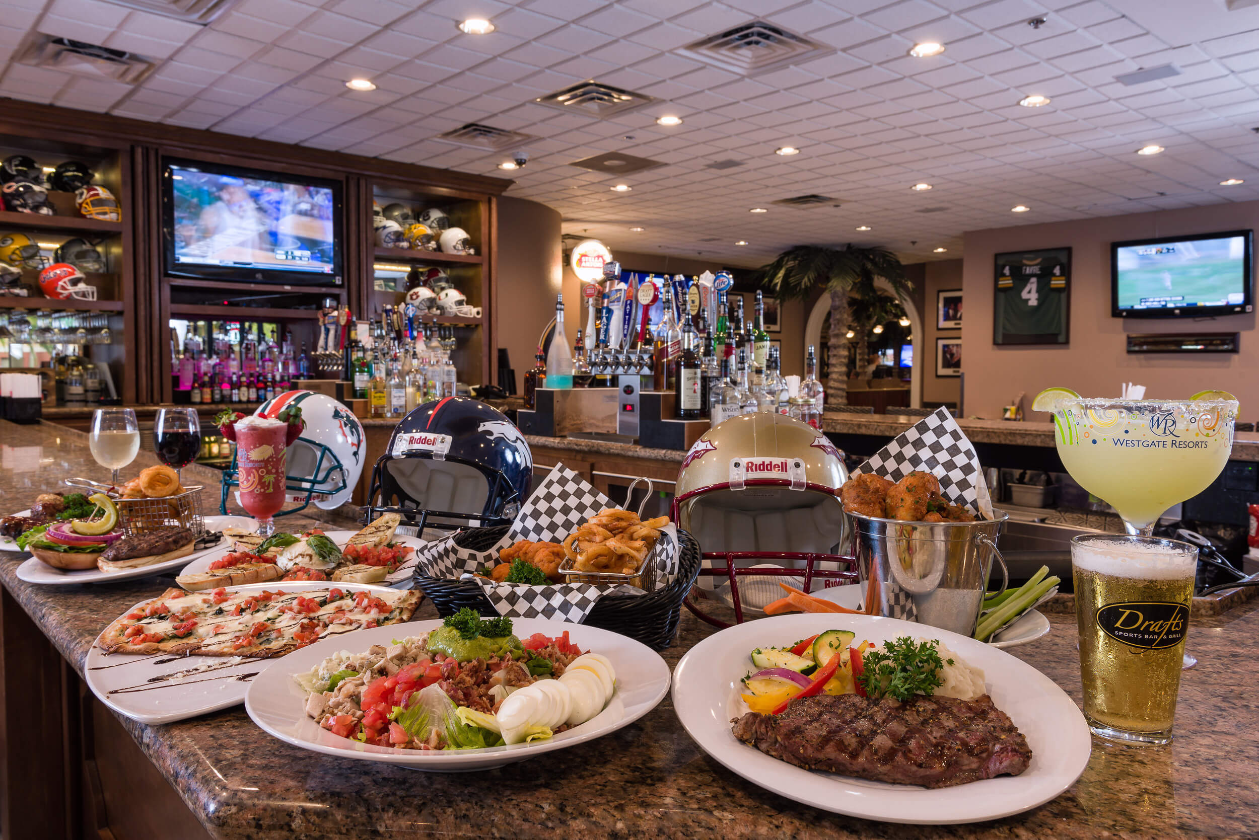 Delicious Meal and Drink Options at Drafts | Westgate Resorts