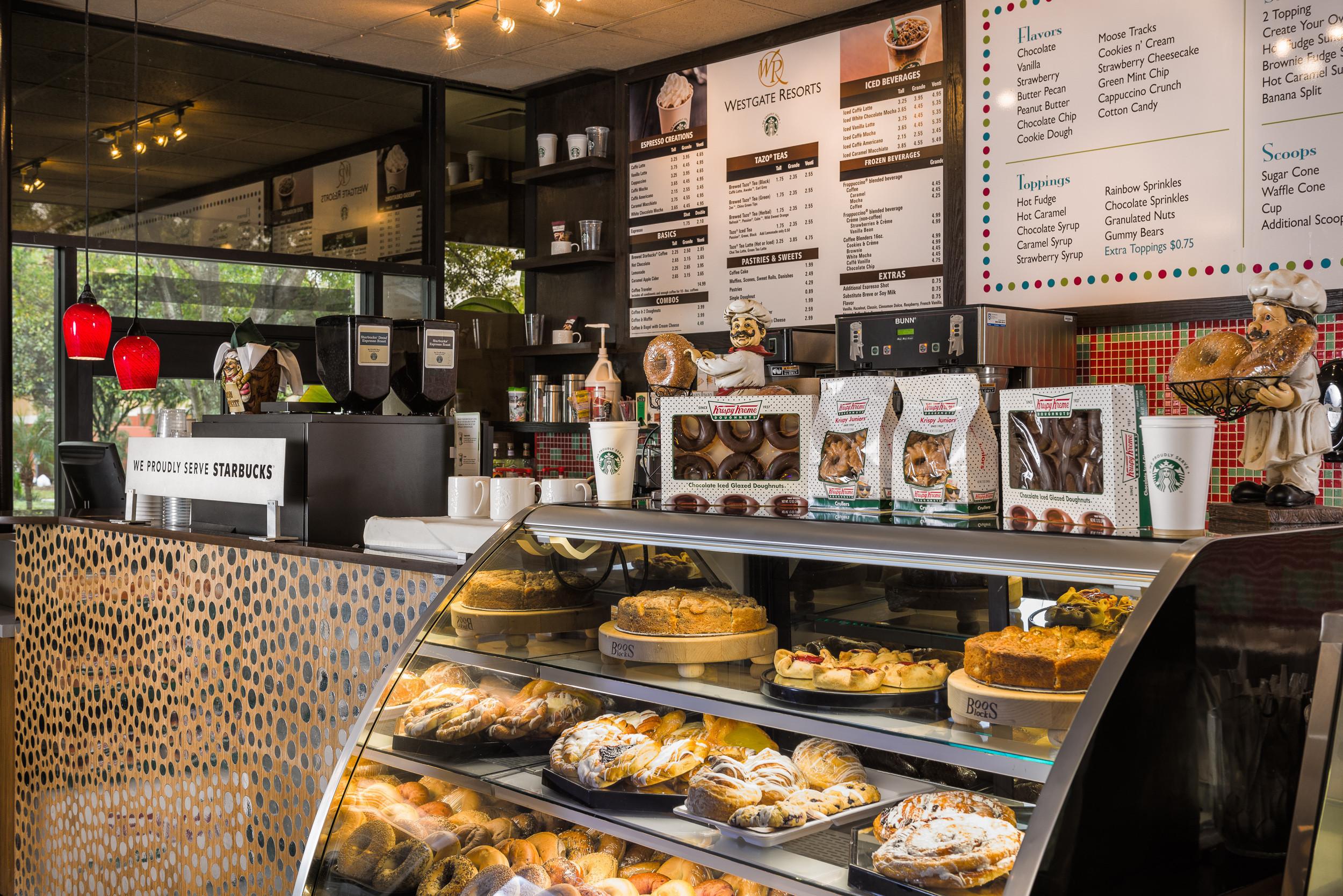 Hershey's Ice Cream Shop Kissimmee | Westgate Vacation Villas Resort & Spa