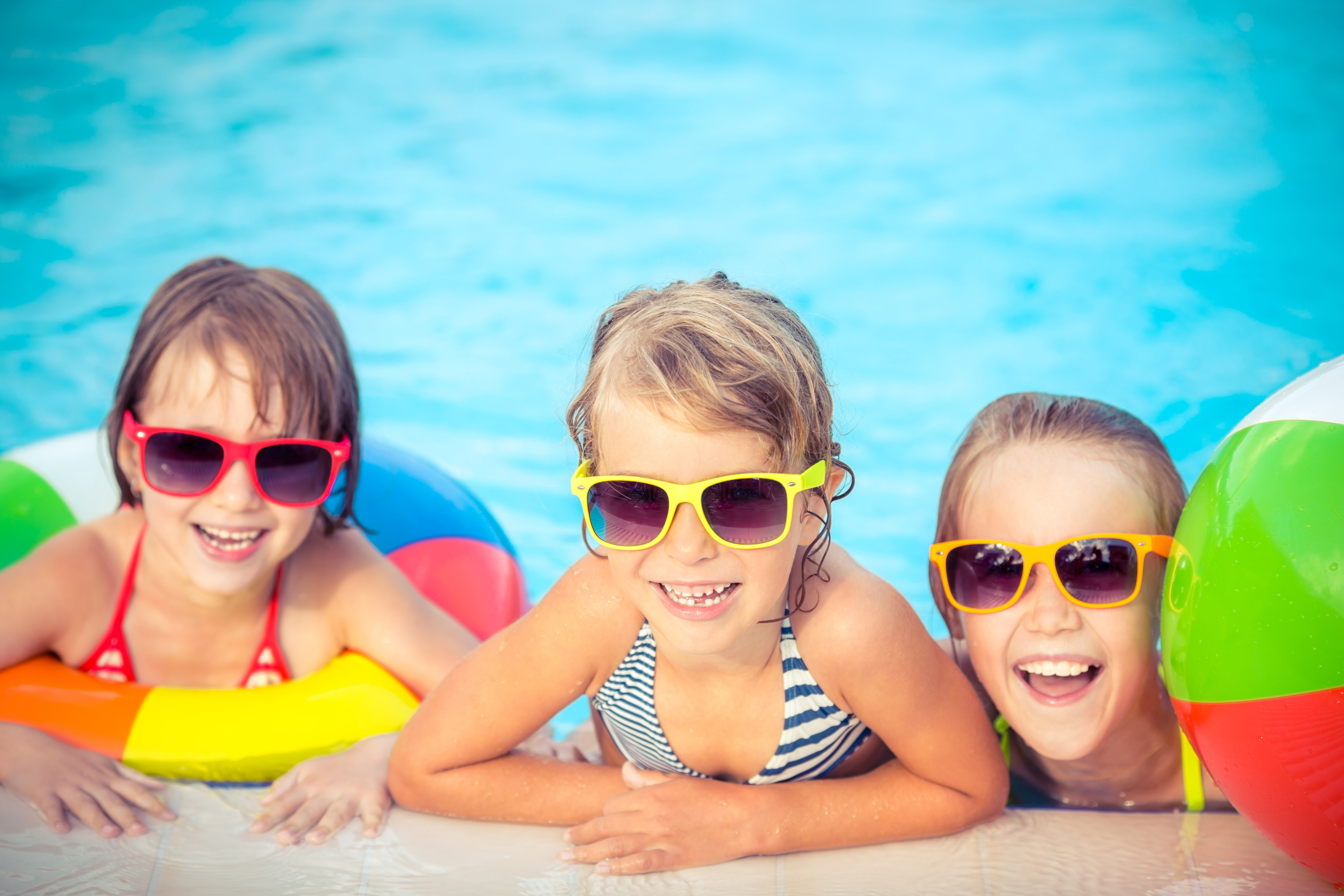Kids in the pool - Westgate Vacation Villas