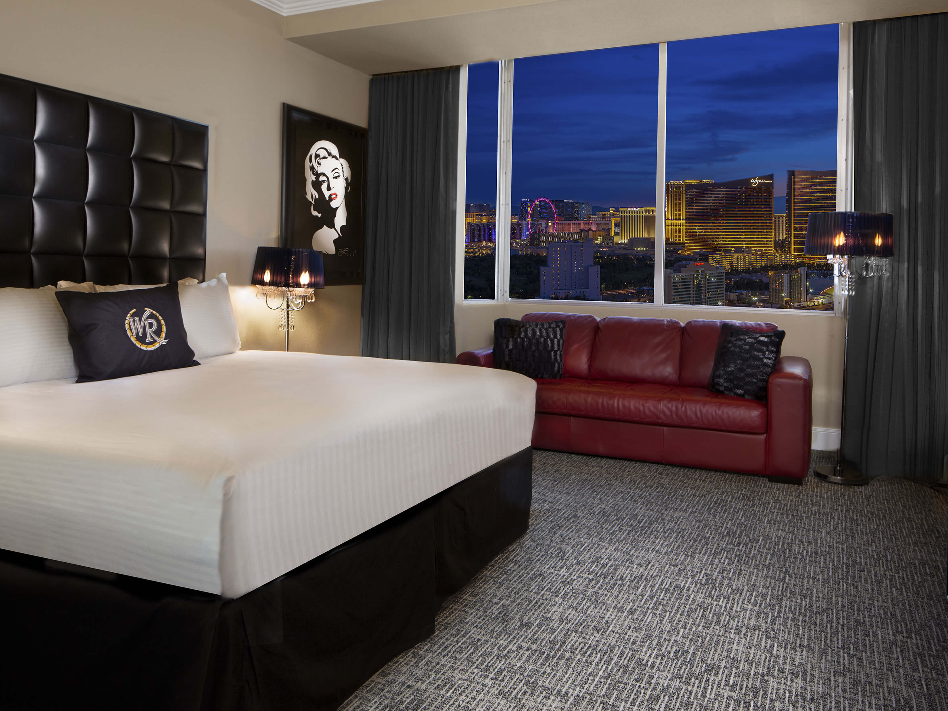 How are the rooms at the Westgate Las Vegas?