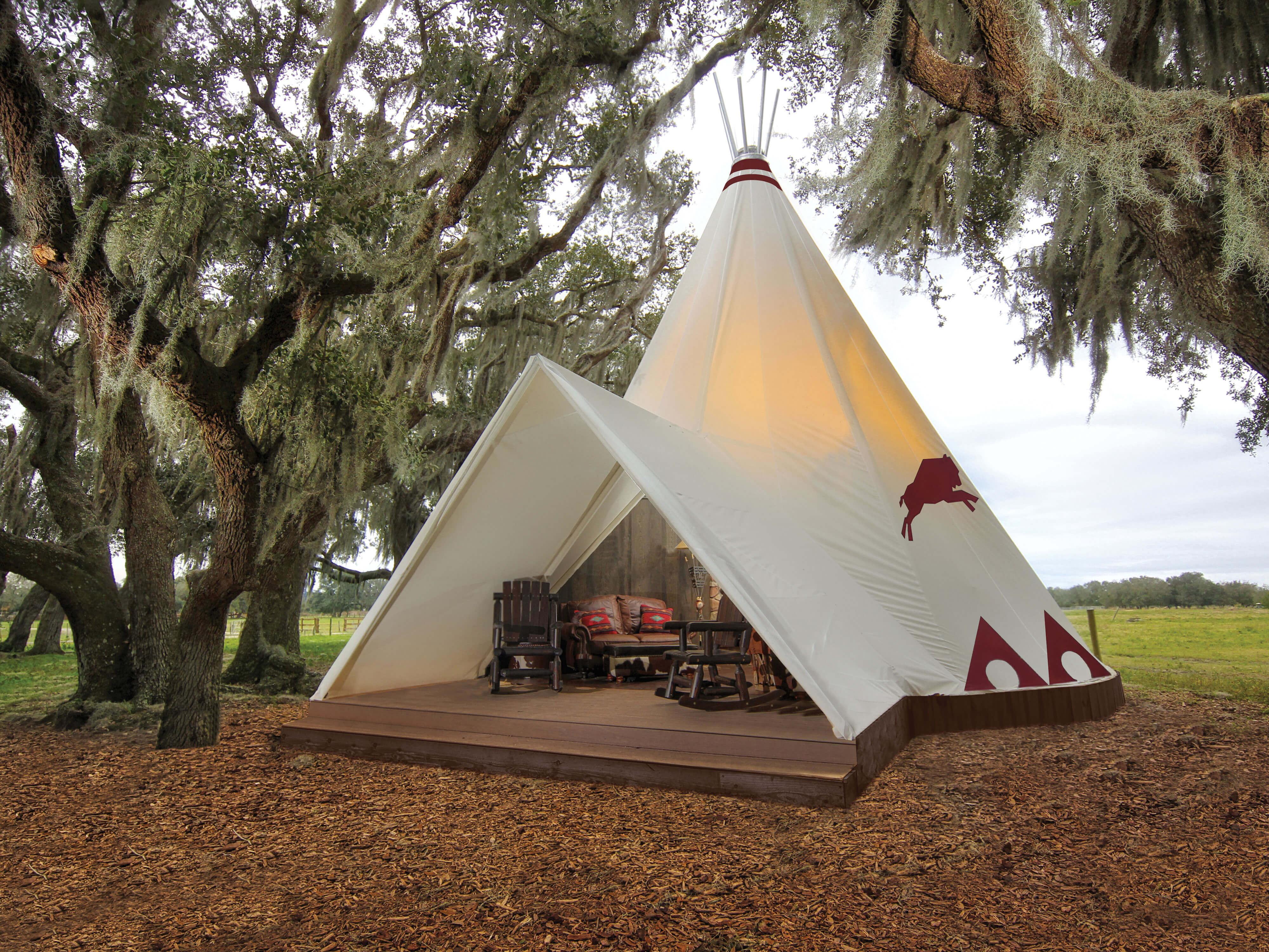 How much are the Teepees at Westgate River Ranch?