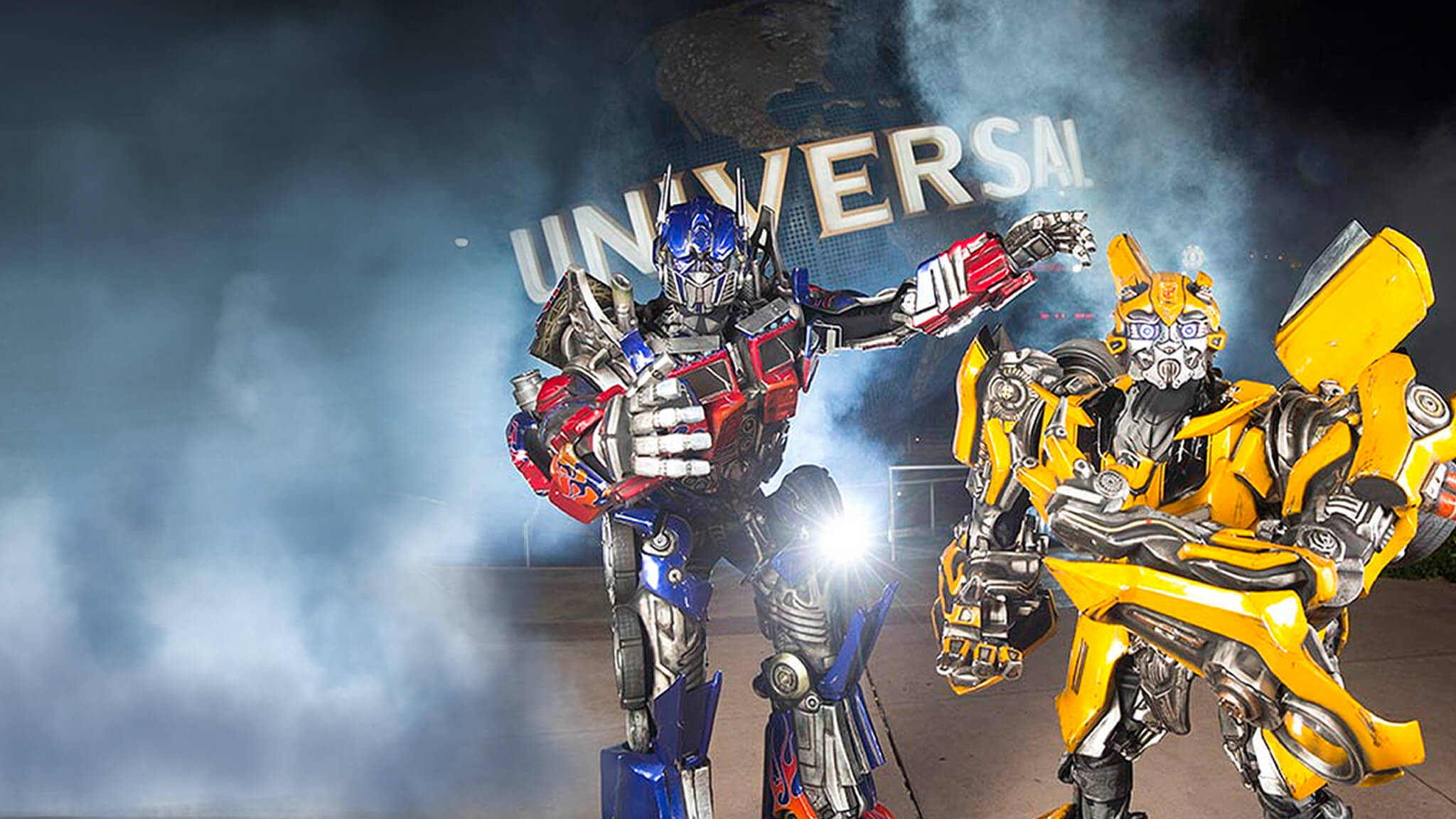 Universal Studios in Orlando with the Transformers | Westgate Resorts