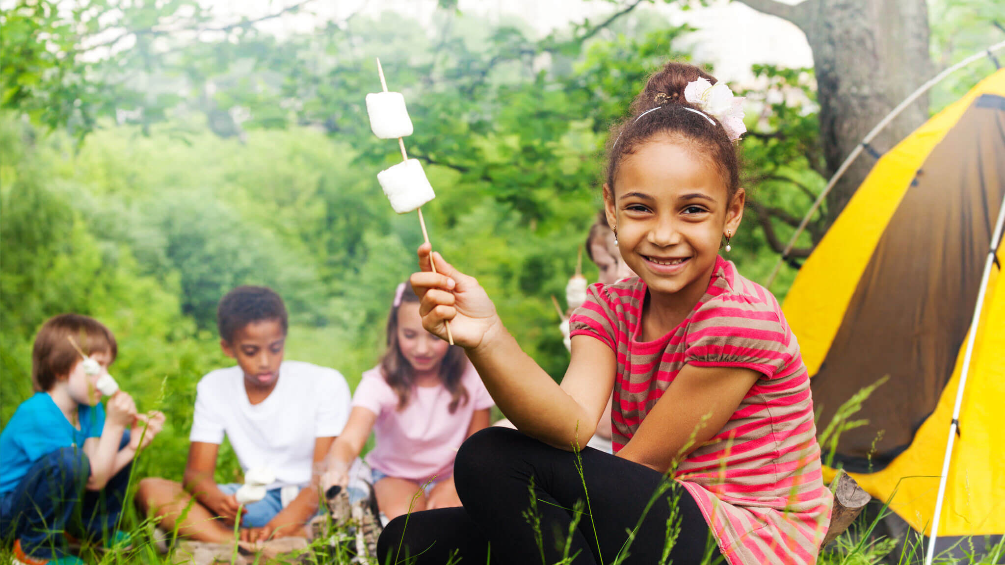 Make School Trips In Branson Fun And Affordable - kids making smores